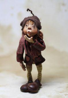 OOAK art doll pixie elf by Feythcrafts on Etsy
