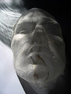 paper sculpture by polyscene, via Flickr