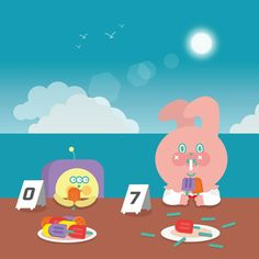 大食 생각없이 먹기위해  #uniquefamily #garbi #dog🐶 #강아지🐶 #beep #유니크패밀리 #토끼 #가비 #삑 #icecream #먹방 #大食 #大胃王 #여름 #summer