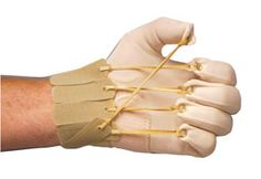 Five-Finger Flexion Glove is great for correction of extension #contracture to finger and MCP joints. #ptsafety
