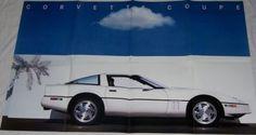 1989  89 Chevrolet  Corvette poster  brochure