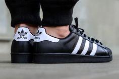 "adidas Superstar Foundation ""Core Black & White"""