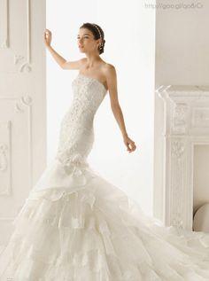 Vestido de novia Tipo Sirena #Bride #WeddingDress #dress #YUCATANLOVE