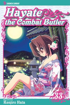 Hayate 33 • Hayate the Combat Butler by Kenjiro Hata (Hayate no Gotoku) Manga Covers Viz English Version Manga Covers, Butler, Comic Books, English, Comics, Anime, Art, Art Background, Comic Strips