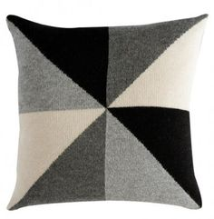 Lucky Boy Sunday Bobby Chair Pillow - Charcoal – My Messy Room Diy Cushion, Chair Pillow, Messy Room, Black And White Love, Pillow Fight, Pillow Talk, Baby Alpaca, Baby Design, Baby Decor