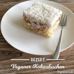 Recipe: vegan coconut cake, delicious, quick and juicy now on Veganucci Reze … – Best Wedding 2020 Diet Desserts, Vegan Dessert Recipes, Vegan Coconut Cake, Vegan Junk Food, Happy Vegan, Sweet Bakery, Happy Foods, Pumpkin Dessert, Sweets