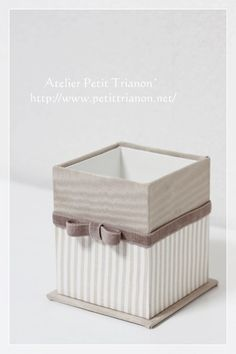 カルトナージュ : Petit Trianon *** cartonnage & interior ***