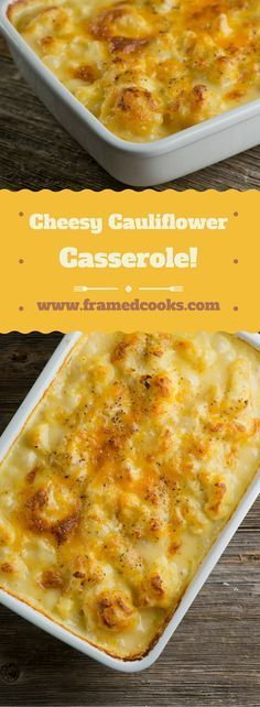This easy and hearty recipe for cheesy cauliflower casserole will have everyone asking for a second serving of vegetables!