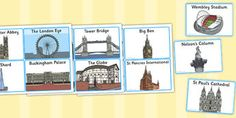 Geography teaching resources for Key Stage 1 - Year Year Created for teachers, by teachers! Nelson's Column, Eyfs Activities, London Landmarks, Primary Resources, London Eye, London Calling, Buckingham Palace, Tower Bridge, Geography