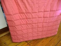 Best tutorial so far-Weighted Blanket DIY w/ pattern- I like this one best!!