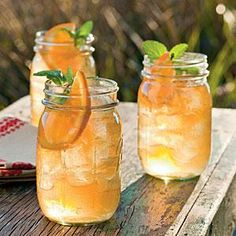 Ginger beer is a nonalcoholic fizzy beverage with a pop of spicy ginger. It's the flavor secret in this spicy but refreshing cocktail.