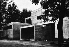 fuckyeahbrutalism:  French Primary School, Geneva, Switzerland, 1962 (Candilis, Josic, Woods with Arthur Bugna)