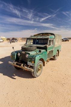 Off Roader, blue sky, clouds, sand, vehicle, beauty, transportation