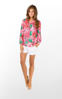 lilly alma top, hotly pink a thing called love