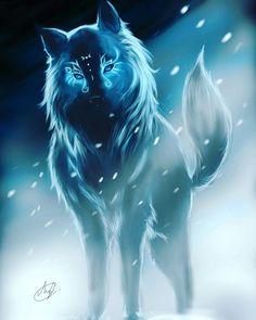 Trendy Zeichnung Anime Wolf Spirit Animal – temp Jan 2019 – – New Mystical Animals, Mythical Creatures Art, Fantasy Creatures, Pet Anime, Anime Animals, Manga Anime, Fantasy Wolf, Fantasy Art, Anime Fantasy