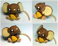 Transformice. Brown mouse by krikdushi.deviantart.com on @DeviantArt
