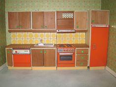 vintage lundby dollhouse kitchen