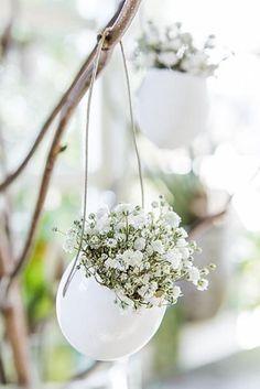 Blütenschmuck - New Site Spring Green, Spring Colors, Easter Table, Easter Eggs, Diy Osterschmuck, Diy Ostern, White Springs, Deco Floral, Diy Easter Decorations