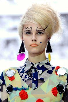 Kinda want to make some kooky, geometric earrings now...
