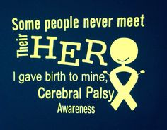 cerebral palsy awareness shirt by BRITTANYSBOWSNMORE on Etsy https://www.etsy.com/listing/216354304/cerebral-palsy-awareness-shirt