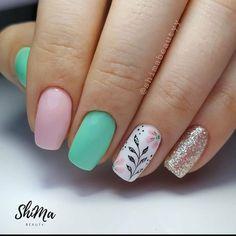 Disney Acrylic Nails, Long Acrylic Nails, Girls Nails, Pink Nails, Cute Nails, Pretty Nails, Hair And Nails, My Nails, Disney Inspired Nails
