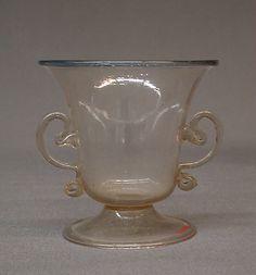 Cup 17th century Italian, Venice (Murano)