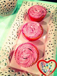 Raspberry Cupcake Recipe - Sugar Free & using Spelt four