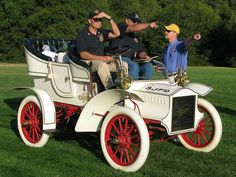 1905 Cadillac SJFD Fire Chief Car 2