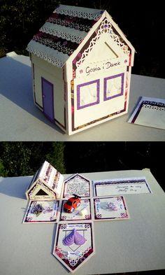 Exploding box domek - Ślub