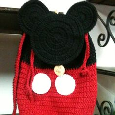 Mickey tejido