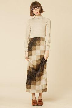 Block Party 70's Lurex Maxi Dress