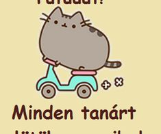 Image uploaded by Find images and videos about lol, cat and magyar on We Heart It - the app to get lost in what you love. Pusheen Cat, Kawaii Cat, Funny Things, Find Image, We Heart It, Art Drawings, Pretty Cats, Funny Stuff, Fun Things