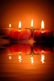 candles reflection water - Google Search