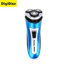 Rechargeable Electric Shaver 3D Triple Floating Blade Heads Shaving Razors