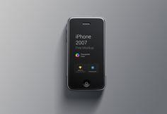 iPhone 1st Generation Mockup on Behance