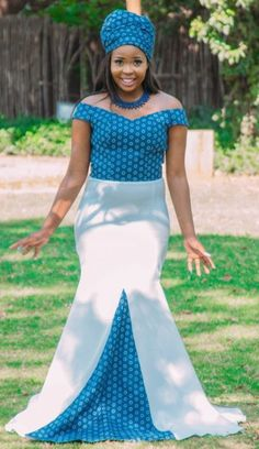 Modern Tswana Wedding Dresses 2019 Bonolo and her better half needed a rich current Tswana wedding to recollect. Best African Dresses, African Wedding Dress, Latest African Fashion Dresses, African Inspired Fashion, African Men Fashion, Africa Fashion, African Attire, African Outfits, Tsonga Traditional Dresses