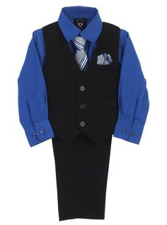 Shiny BURGUNDY BLACK BABY BOY OUTFIT Designer Special Occasion Suit Boys Formal