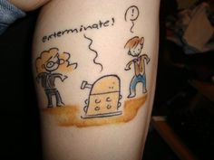 "50 Fantastic ""Doctor Who"" Tattoos. #18 was done by Katie Cook."