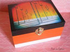"""Voici ce que je viens d'ajouter dans ma boutique #etsy : Boîte à bijoux MUSE """" OOS"""" special http://etsy.me/2FVsTXS  #orange #noir #boite #boiteabijoux #boitemuse #oos #originofsymmetry #muse @muse #teamOOS"""