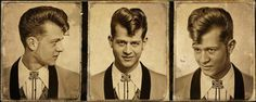 cut by the teddy boys at - Schorem Haarsnijder En Barbier Teddy Boys, Teddy Boy Hair, Teddy Girl, Classic Mens Hairstyles, Boy Hairstyles, Vintage Hairstyles, Creepers, Teddy Boy Style, Cargo Jacket Mens