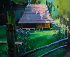 "Saatchi Art Artist Anastasia Yaroshevich; Painting, ""In the shadow"" #art"