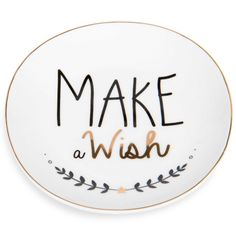 MAKE A WISH PAN small china bowl
