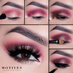 Poppy by Motives Cosmetics.SHop this look at http://www.motivescosmetics.com/learn/get-the-look/poppy/2878 and earn cash while you shop!