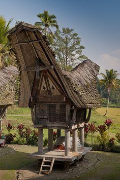 Kete Kesu Village, Sulawesi, Indonesia
