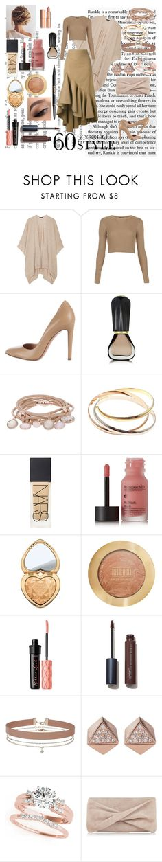 """Candy #4"" by kei-lily-amethyst on Polyvore featuring The Row, Topshop, Gianvito Rossi, Oribe, Marjana von Berlepsch, Cartier, Perricone MD, Too Faced Cosmetics, Milani and Benefit"