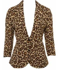 """""""It was on """"The Fashion Police"""" but I love this!""""    I actually think this is kind of classy. The structure helps to tone down the sassy print and makes it totally wearable."""