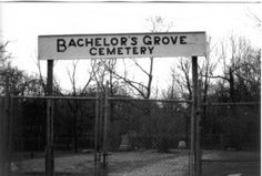 Bachelor's grove cemetery. Chicago. Been here...heard whistling next to me while walking to the cemetery (no one was around) I'd love to revisit