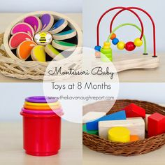 Montessori Baby -- Baby Toys 6 to 10 months
