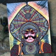 Fine Art Prints, Canvas Prints, Peacock Pattern, Indian Folk Art, Canvas Paper, Beautiful Textures, Pictures To Draw, Portrait Art, Face Art