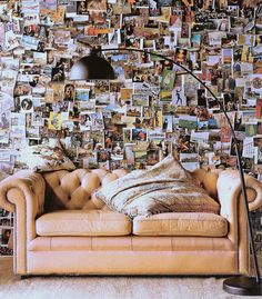 inspiration for photo wall